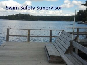 Swim Safety Supervisor